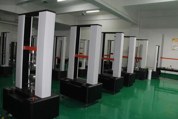 拉力試驗機生產區域